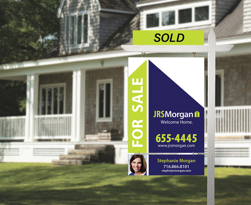 Thumbnail for the Custom Real Estate Signs project page