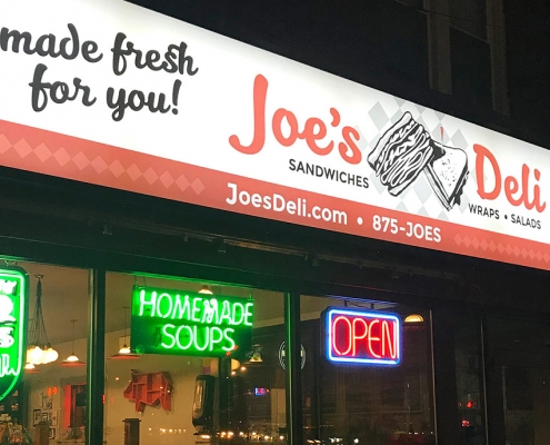 Thumbnail for the Deli Building & Exterior Signage project page