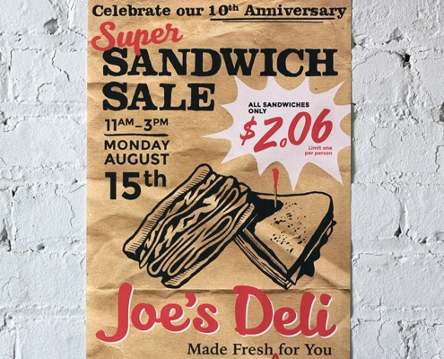 Thumbnail for the Deli Posters & Interior Signage project page
